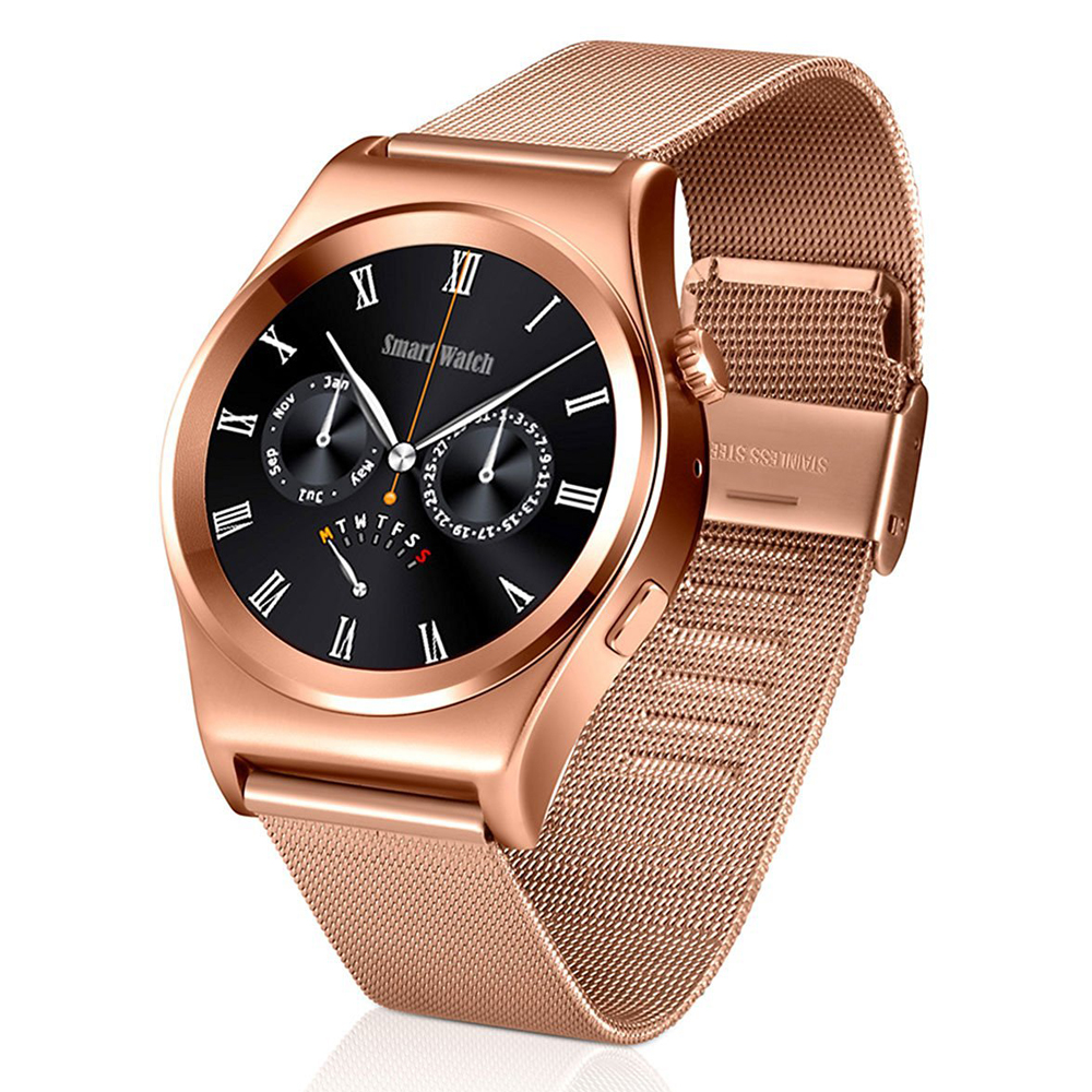 X10 1.3 inch IPS Screen Multi UI Bluetooth 4.0 Smart Watch With Heart Rate Monitor Fitness Tracker Message Call Reminder(China (Mainland))