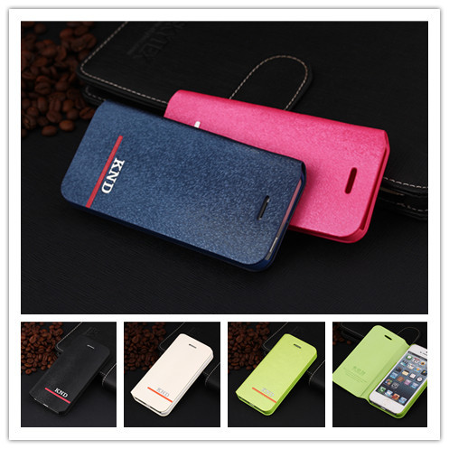 Hot Brand Luxury Leather PU Flip Case For Iphone 5 5S 5G Mobile Phone Bag For iphone5 Cover Stand Cases \(China (Mainland))
