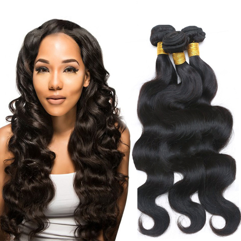 11.11 Global Shopping Festival Malaysian Body Wave 4 bundles Virgin Hair HJ Hair Products Malaysian Hair Weave Bundles Free Ship