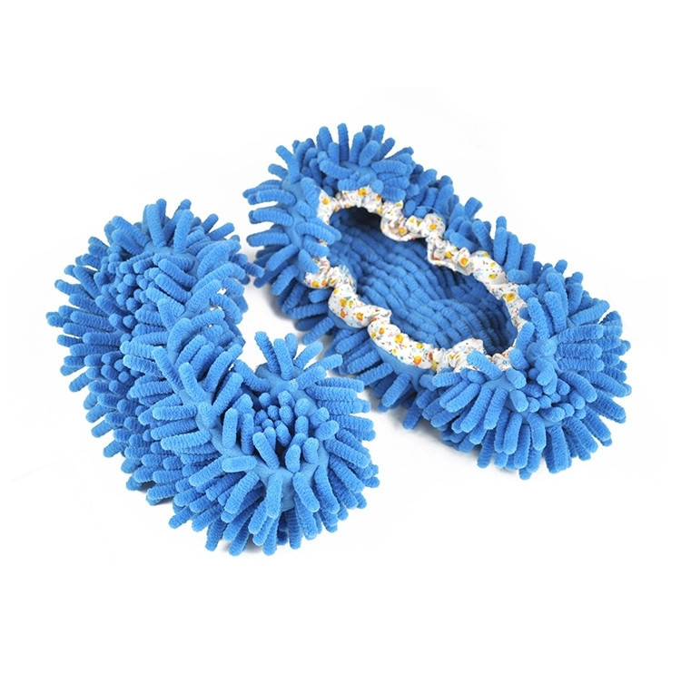 Multifunction Microfiber Dust Mop Slippers Novelty Bedroom Slippers Home Cleaning Shoes Cover(China (Mainland))