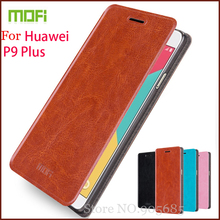 Original Mofi Huawei P9 Plus Case Hight Quality Flip pu Leather Stand Cover (5.5'') - HON ELECTRONICS CO LTD store