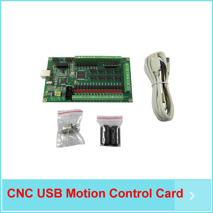 Free ship Revolutionary 3 Axis Mach3 200KHz CNC USB Motion Control Card Breakout Board Interface Adapter Windows OS(China (Mainland))