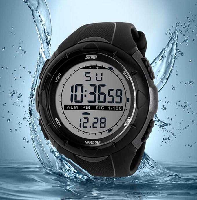 2015 Men Sports Watches SKMEI Brand Digital Watch LED Outdoor Dress Wristwatches Military Watch relogios masculinos(China (Mainland))