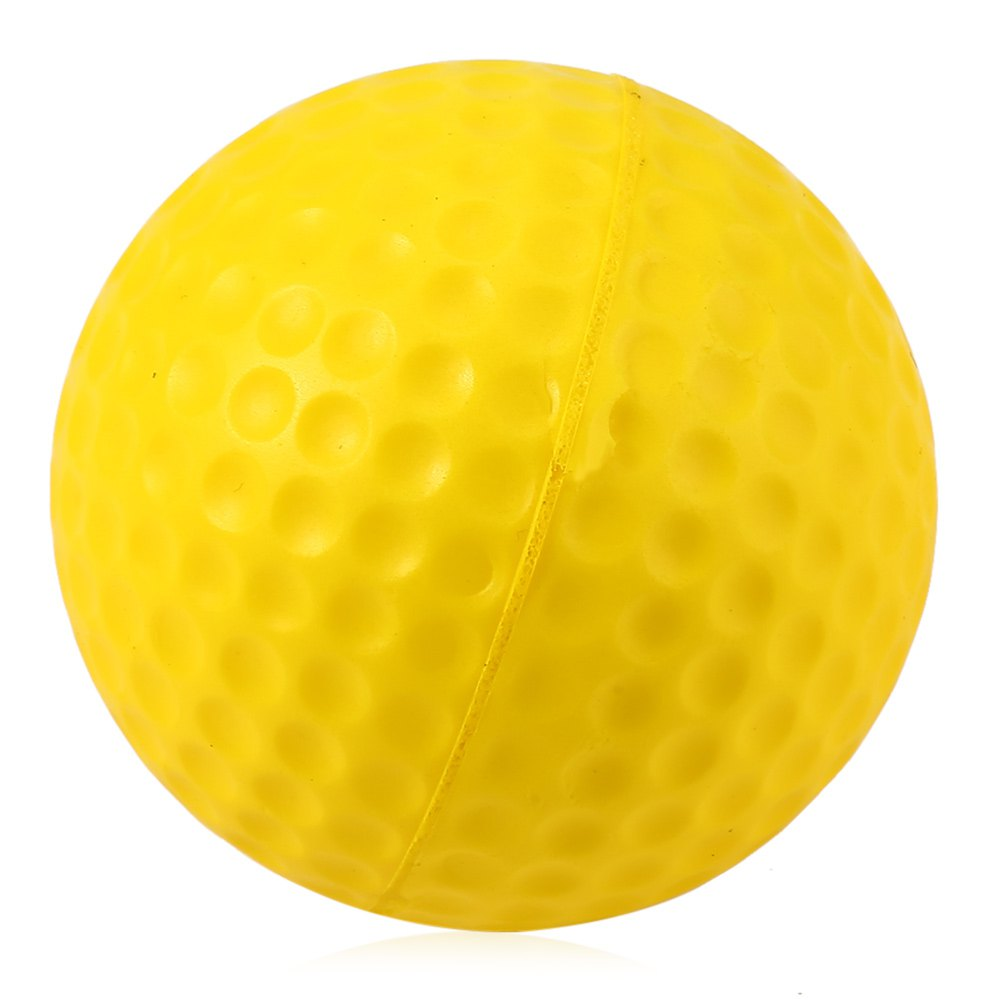 High Quality 4 Color 10PCS Elastic PU Foam Balls for Golf Sports Indoor Or Outdoor Training Golf Practice Ball Free(China (Mainland))