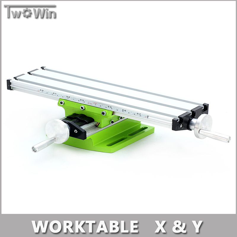 Miniature Precision Multifunction Milling Machine Bench Drill Vise Fixture Worktable X Y-axis Adjustment Coordinate Table.(China (Mainland))