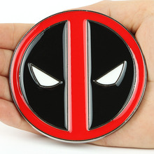 High Quality Brand Mens Vintage Western Deadpool Belt Buckles Only New High Quality Cosplay Free Shipping(China (Mainland))
