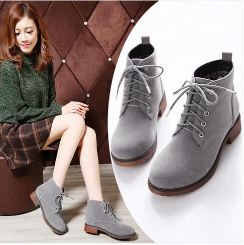 boots women low heels