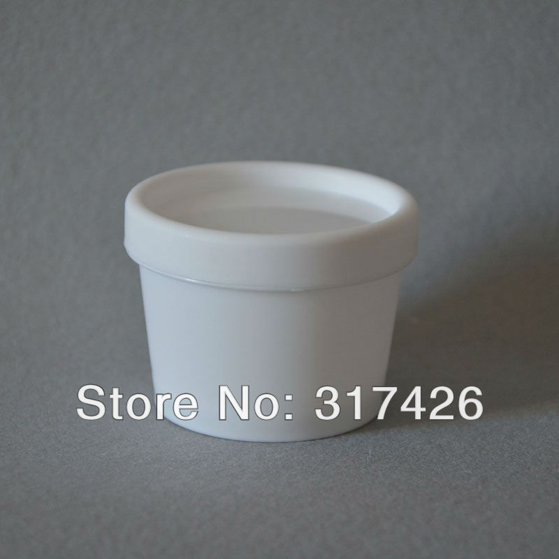 Free Shipping- 100g plastic cream jar, frosted pp makeup jar, cosmetic container, cream bottle case(China (Mainland))