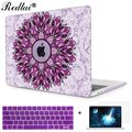 New Print Crystal Clear Case For Macbook Pro A1706 A1707 Touch Bar Cover Mandala Laptop Bag