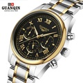 High Quality Original GUANQIN Men Watch Top Brand Luxury Tag Watch Men s Shockproof Waterproof Stainless