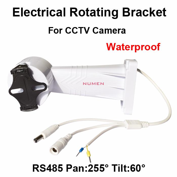 2014 New CCTV PTZ Bracket Electrical Rotating Bracket Wall Mount installation for cctv camera Adjustable rotation holder RS485(China (Mainland))