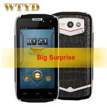 "DOOGEE TITANS2 DG700 Waterproof Shockproof 8GB ROM + 1GB RAM 3G 4.5"" Android 4.4 Smartphone MTK6582 Quad Core Dual SIM(China (Mainland))"