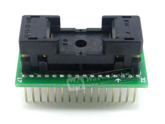 SOP32 TO DIP32 (B) SO32 SOIC32 SOP Enplas IC Test Socket Programming Adapter 1.27Pitch Free Shipping(China (Mainland))