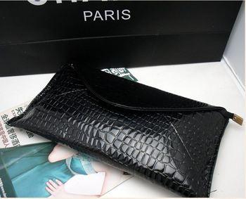 2013 fashion black and blue bags women beach shoulder bag brand korean evening bag handbag genuine leather bags
