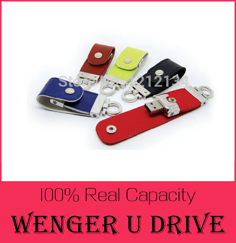 USB flash drive Leather & metal keyring PenDrive & pen drive 128GB usb 2.0 flash drive 512GB 64gb Memory U Disk & u stick(China (Mainland))