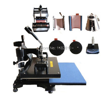 Advanced New Design 8 In 1 Combo Heat Press Machine ,Plate/Mug/Cap/TShirt heat press,heat transfer machine,Sublimation machine