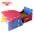 Meitoku baby Safety Foam kids table and chair set