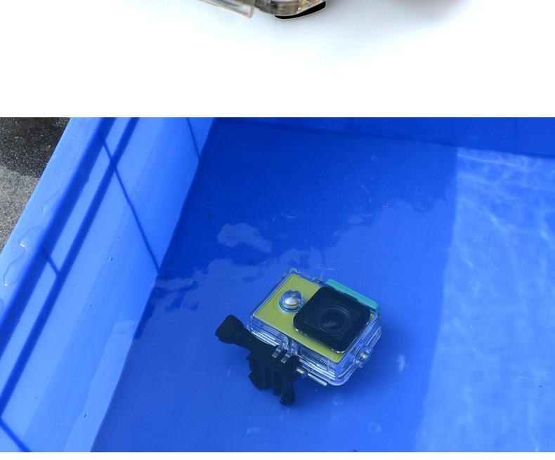 Waterproof Xiaoyi Sports Action Camera Case for Xiaomi Yi Waterproof Case MI YI 40M Diving Box for Xiaomi Yi Accessories