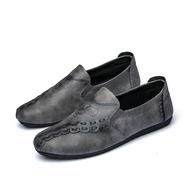 new solid color men casual shoes hot sale 2017 footwear men's cool loafers luxury brand slip on moccasins fashion shoes for men (6)