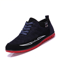 Men s shoes spring autumn mens fashion leisure brand frosted canvas men shoes 2017 flat casual