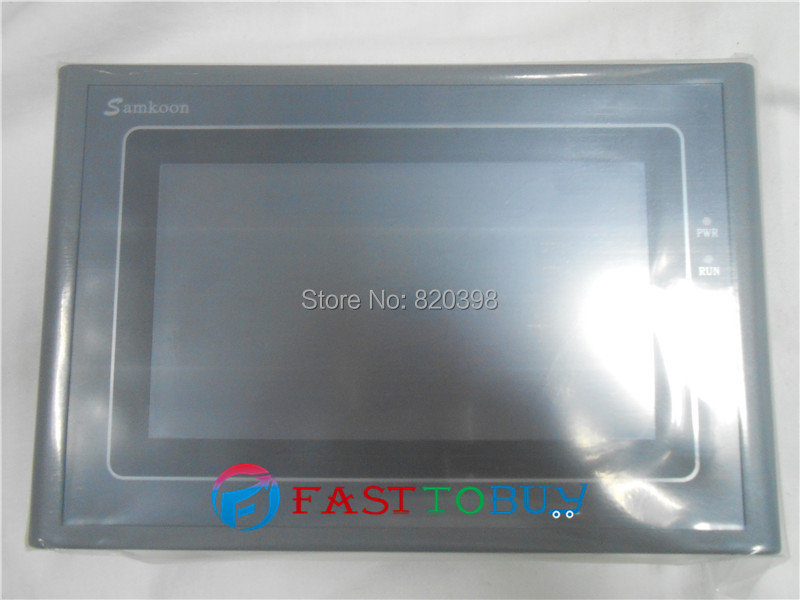 """NEW HMI Touch Screen 7"""" 800*480 USB Host SD Card 2COM SK-070AE with Free Cable&Software One Year Warranty(China (Mainland))"""