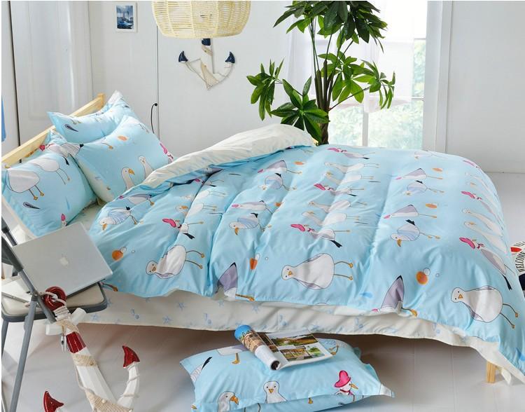 Cartoons Bedroom Sets For Teenagers : Free shipping 3 Pcs/sets Cute cartoon bedding sets teens kids, 100 ...