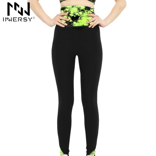 Innersy осень зима марка дизайн женщины фитнес спорт yoga брюки хорошие резинки comfortable yoga запуск леггинсы YD-314