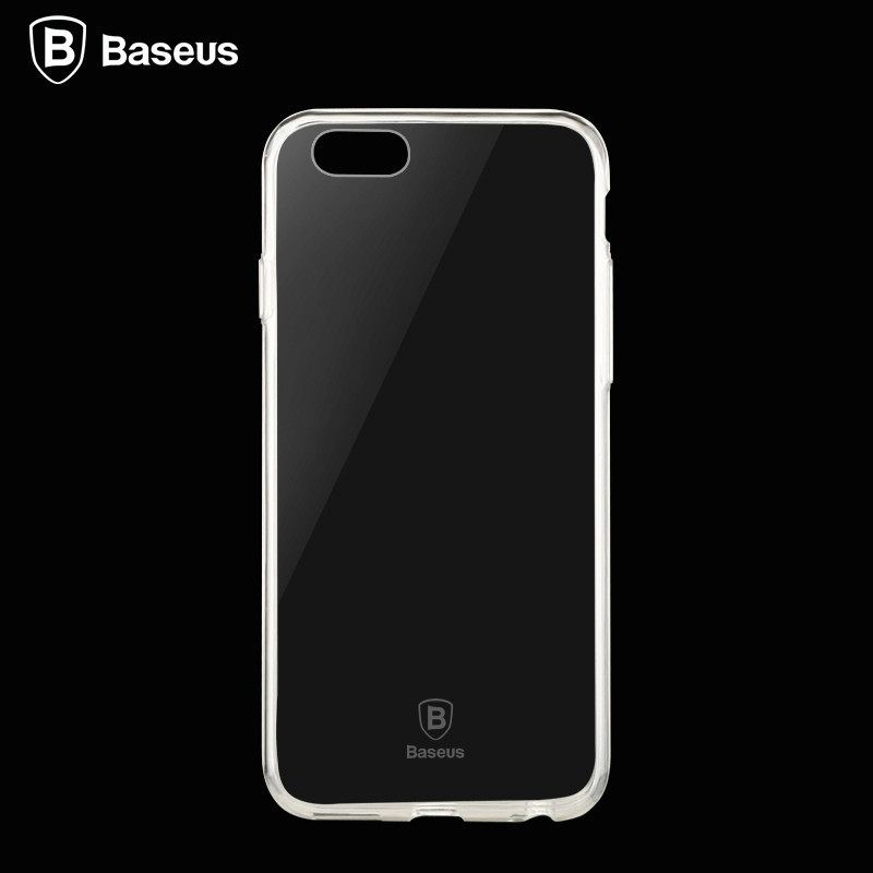 Baseus Ultra Thin Soft TPU Phone Case For iPhone 6 6s Plus Slim Crystal Clear Silicon Back Cover For iPhone 6 6p Phone Bags