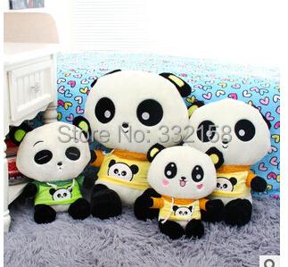 free shipping plush anime Cute panda plush toy dolls doll adorable children's birthday gift baby toy(China (Mainland))