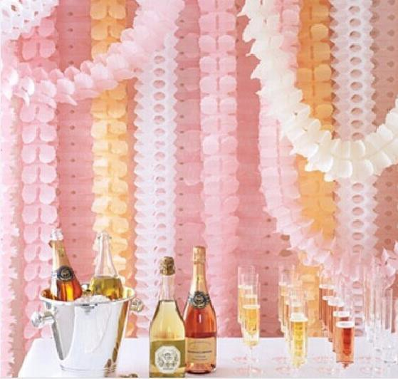 1PC/OPP bag Clovers paper garland wedding marriage room decorate birthday party the venue decoration shop wedding products(China (Mainland))