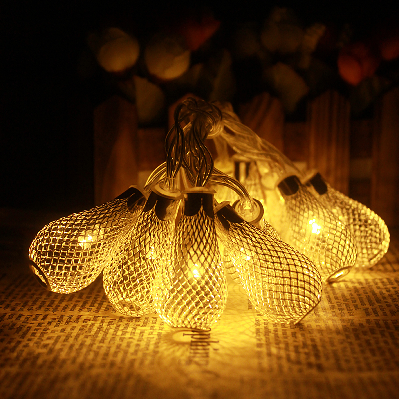 [Huamei]Romantic 1M LED Fairy String Light for Home Room Decor,DC12V Christmas Wedding Strip Lamp,2xAABattery Operated,luminaria(China (Mainland))