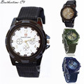 Superior Wonderful Popular Gemius Army Racing Force Military Sport Men Officer Fabric Band Wrist Watch Relogio