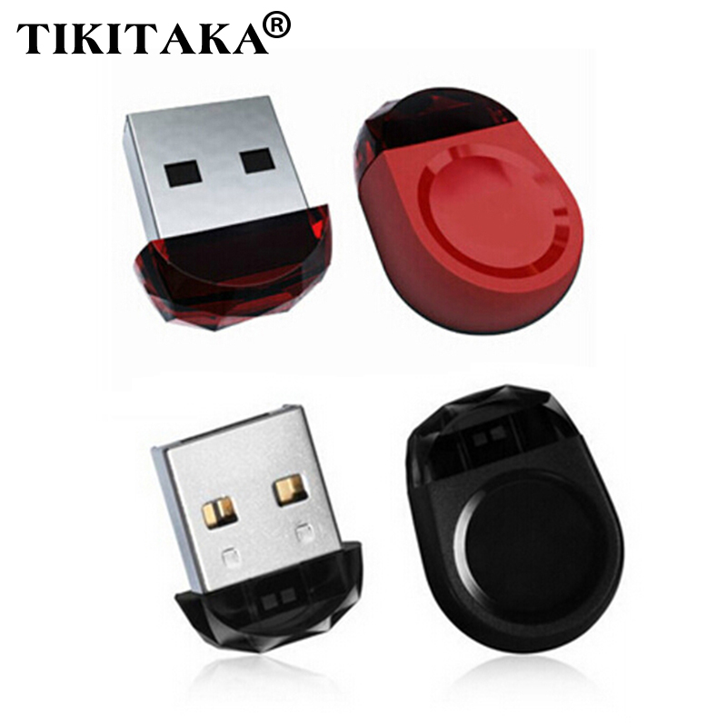 New 100% Real Capacity Black red Super Mini Tiny unique USB Flash Drive Pen Drive USB 2.0 Memory Stick 4GB 8GB 16GB 32GB U Disk(China (Mainland))