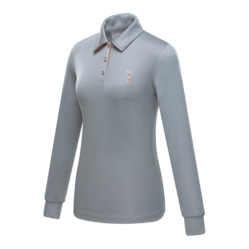 Fashion Brand POLO golf womens polo shirts ladies autumn and winter long sleeve golf t-shirt with collar Golf shirt clothing <br><br>Aliexpress