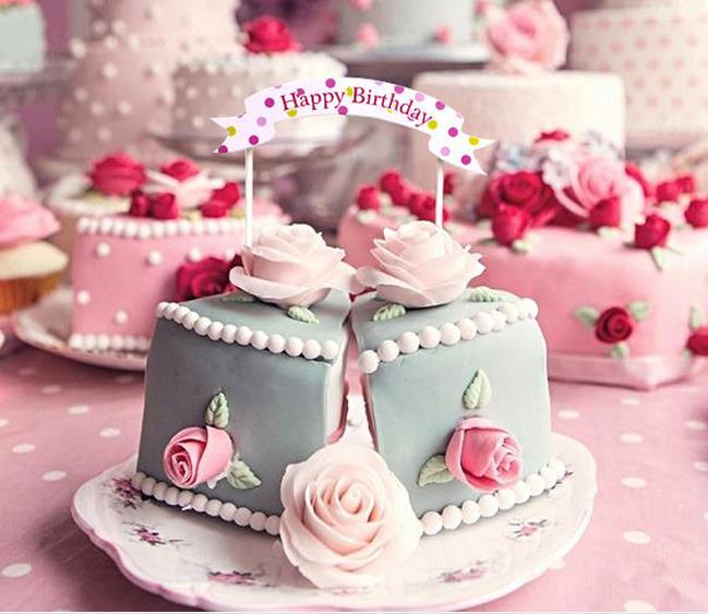 birthday party decorations kids Birthday Cake Topper Birthday Party ...