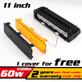 11 60W LED Work Light Bar for ATV 4X4 Combo LED Offroad Light Bar Tractor offroad