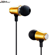 JBMMJ-MJ8500 Hot sale earphones 3.5MM In-ear headset for MP3/MP4/ DJ PVC plastic bag headset Freeshipping(China (Mainland))