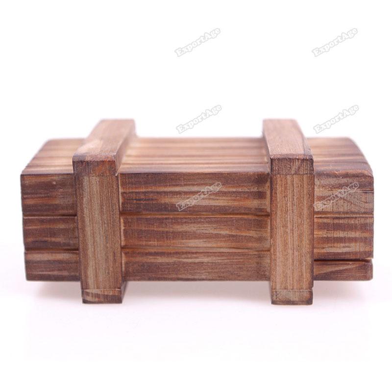 LidaBack Wonderful! Magic Wooden Puzzle Box Puzzle Wooden Secret Trick Intelligence Compartment Gift Latest!(China (Mainland))