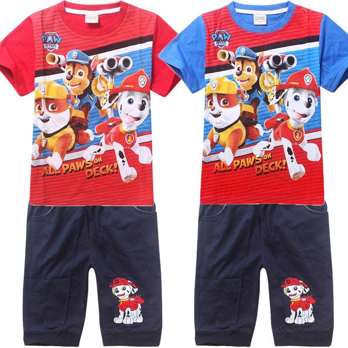 2015 summer Baby boys clothes Set Children's set kids t-shirts girls boys t shirt+pants Shorts clothing Children's clothing sets(China (Mainland))