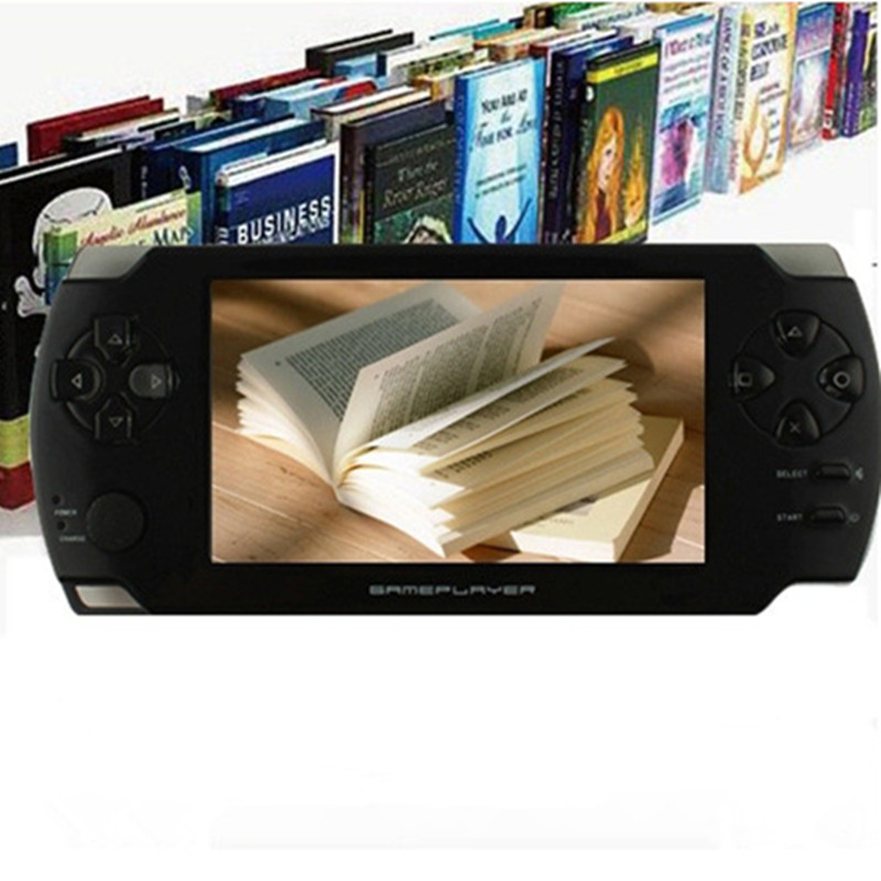 4.3-inch touch screen Handheld Game consoles PSP Games Console Support HD Output 8G memory MP5 with camera Ultra-thin player(China (Mainland))