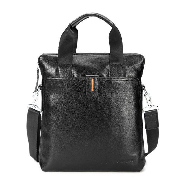 2013 commercial genuine leather man bag cowhide briefcase male shoulder bag