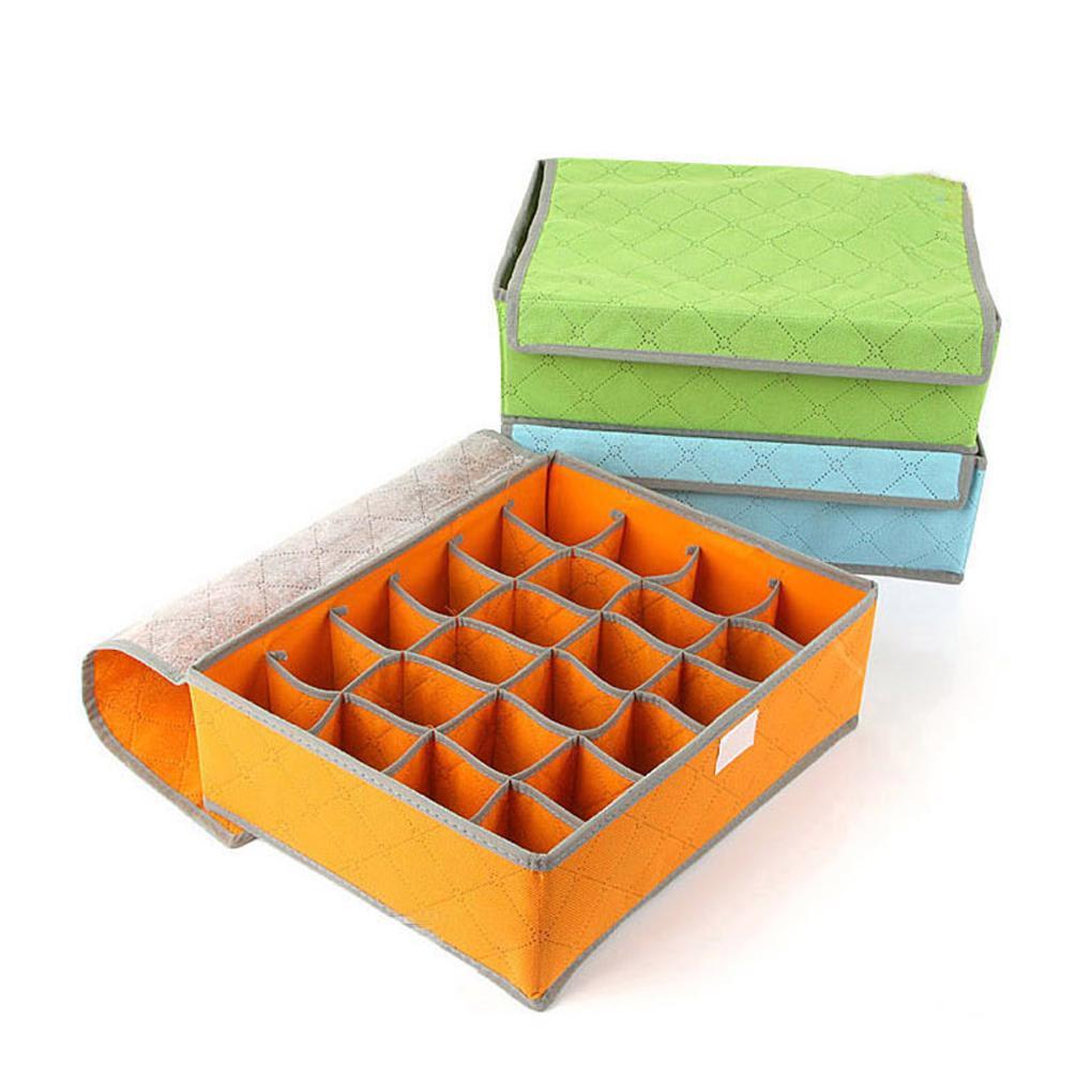 Convenient design 16 Cell Socks Underwear Ties Storage Box Case House tools underwear Closet Drawer(China (Mainland))