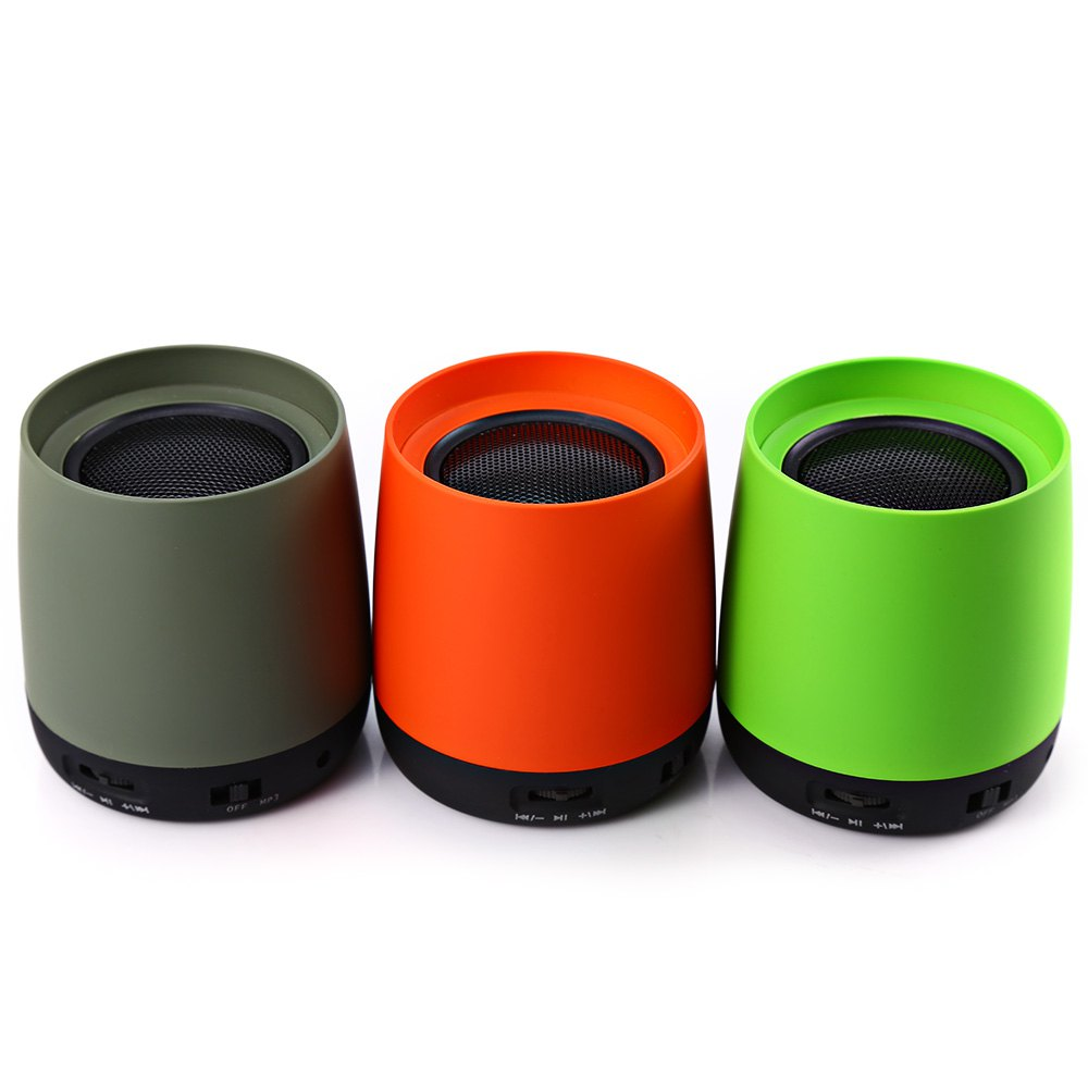 PQ-01 Portable Wireless Speakers Bluetooth 2.1 Speaker Exhaust Cup Shape Sound Loudspeakers Audio Player For Laptop Phone PC(China (Mainland))