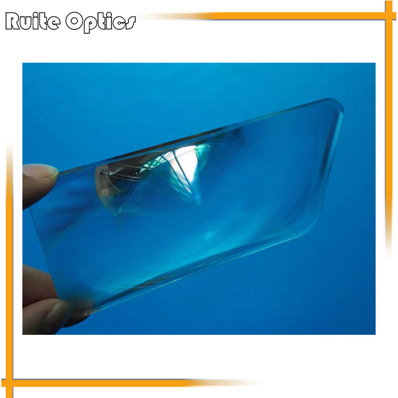 73x112mm Optical PMMA Plastic Fresnel Lens Solar Focal Length 100mm for DIY Projector,Plane Magnifier,solar concentrator(China (Mainland))
