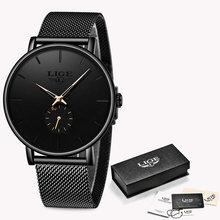 En este momento 2019 nouvelle modo deporte hombres relojes de marca de lujo étanche Simple Ultra-mince montre hommes de horloge reloj(China)