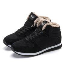 2016 de La Moda Mujeres de Los Hombres de Invierno mantienen Cálidas Botas de Nieve de Peluche tobillo de la Nieve botas Zapatos de Trabajo de mujeres de Los Hombres Al Aire Libre Botas de Nieve 36-47(China (Mainland))