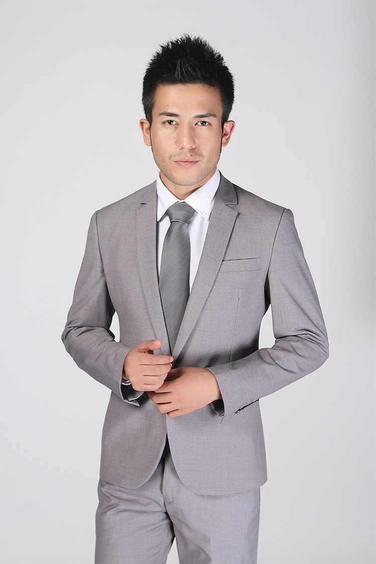 79-Free Shipping New 2015 man suit classic Fashion grooms man suits! Men's Blazer Business Slim Clothing Suit And Pants
