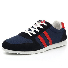 mens Casual Trainers Shoes 2016 New Breathable Summer Shoes For Man Walking Shoes Breathable Casual Net Mens Shoes