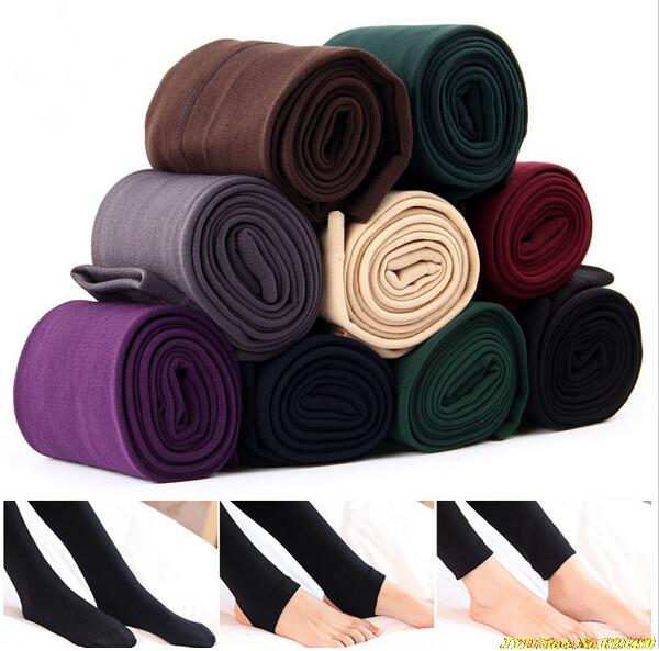 2015 New Fashion Casual Warm Faux Velvet Winter leggins Women Leggings Knitted Thick Slim fitness Super