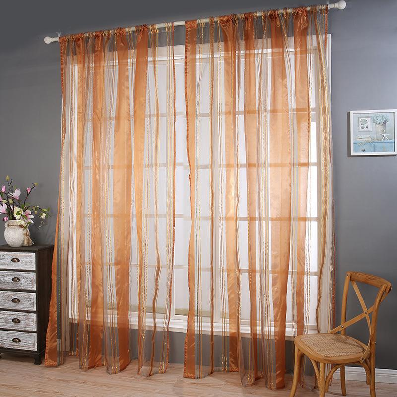 Popular brown blue curtain buy cheap brown blue curtain - Habitacion marron ...